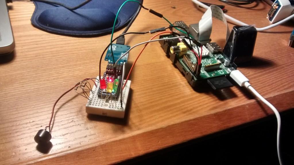 Raspi+Arduino