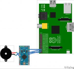 RasPi Arduino I2C